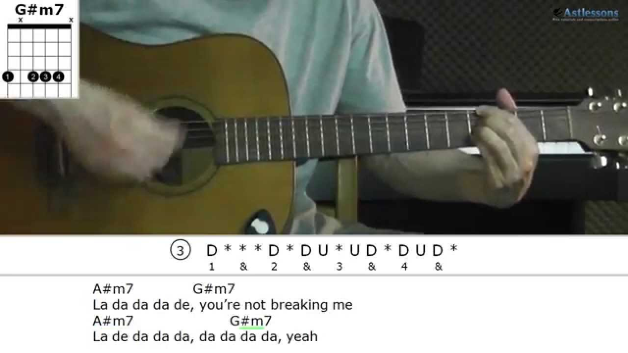 how to play desecration smile on guitar