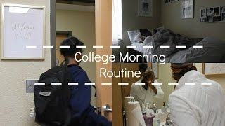 My REAL College Morning Routine