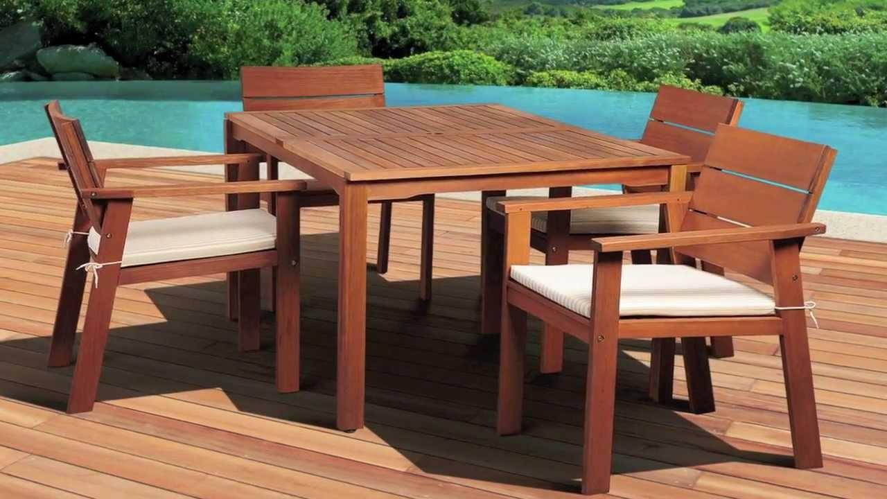 Amazonia Eucalyptus Patio Furniture Collection
