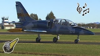Aero L-39 Albatros jet - Flight & Aerobatics