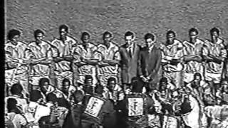 Cameroon - Nigeria - CAN 1988 FINAL the line-ups