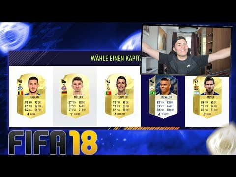 FIFA 18: ABSOLUT HEFTIGES RONALDO ICON FUT DRAFT! 🔥 FIFA 18 ULTIMATE TEAM DEUTSCH