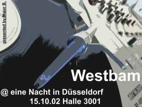 Westbam @ eine Nacht in Düsseldorf 15.10.02 Halle 3001