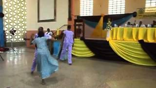 Awudome Cultural Group Performance Volta Region Ghana part 2 of 2