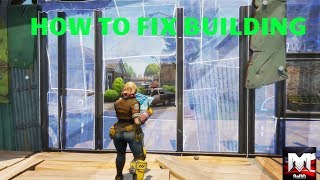 HOW TO FIX BUILDING PROBLEM IN NEW FORTNITE UPDATE 2.2 (SIMPLE FIX)