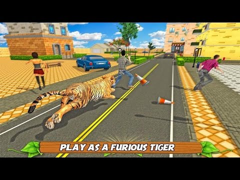 🐅👍Tiger City Battle Simulator- Симулятор Тигра - By Glufun Games-Android