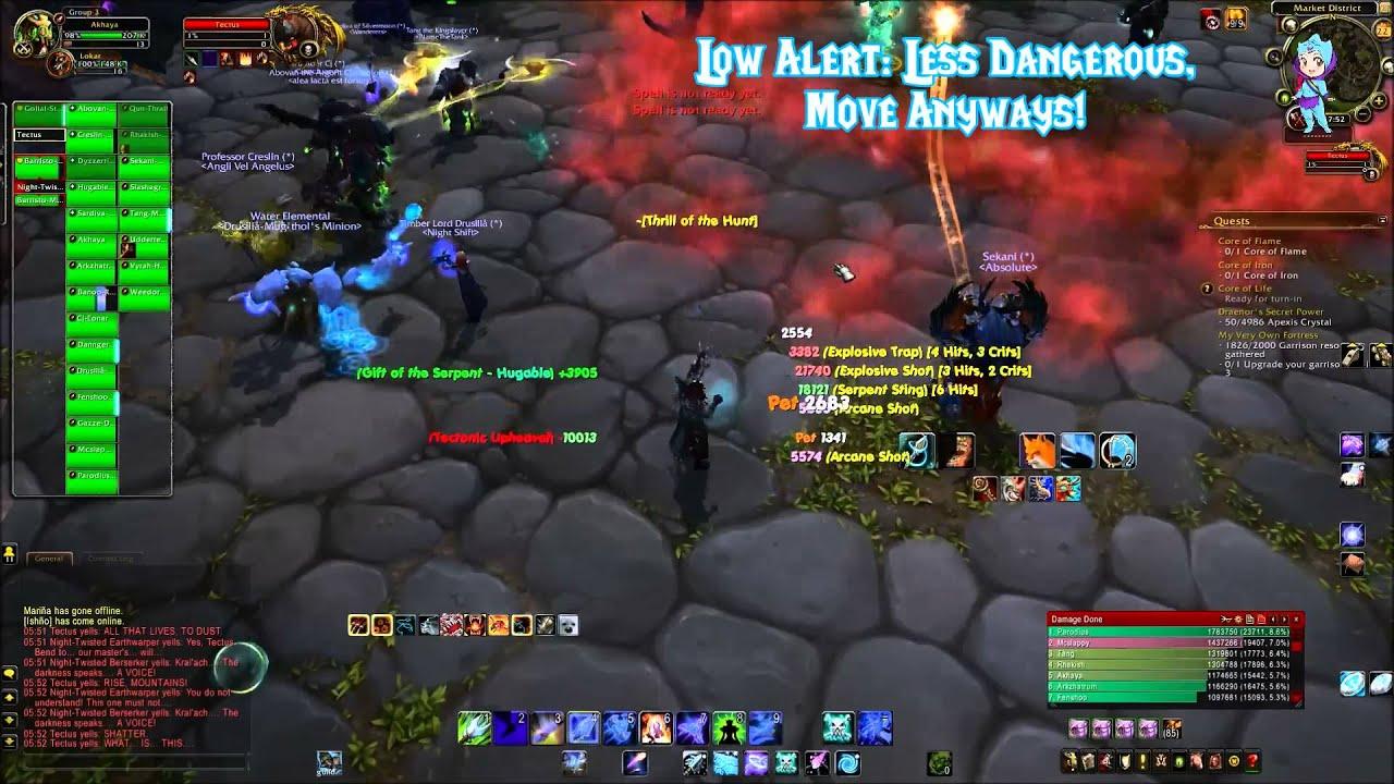 World of Warcraft Add-On Sanctum: GTFO by Zensumin