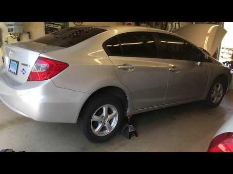 2012 Honda Civic CNG High Pressure & Low Pressure Filter Changes