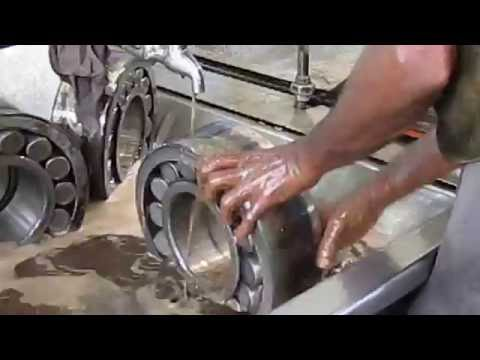 Cleaning Of Roller Bearings Of ICF Coach