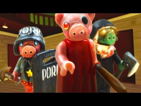 Как сделать фигурки из игры Роблокс Пигги (roblox Piggy)