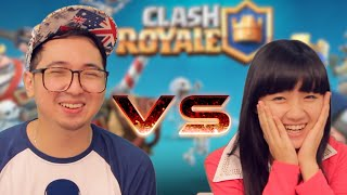 Download Video Edho Zell VS Cindy Gulla @CLASHROYALE battle MP3 3GP MP4