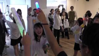 """新曲 """"RUN"""" 初披露!! 2016 04 24 Stereo Fukuoka @ インドウ(新天町) ..."""