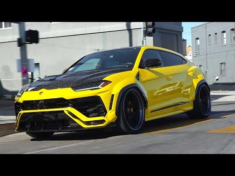 Chief Keef's Yellow Widebody Lamborghini Urus.