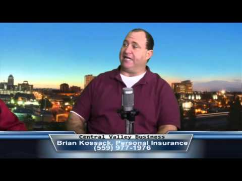 Brian Kossack, Full Service Insurance Agency, on Central Valley Business