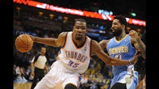 806183626d32 Kevin Durant e Russell Westbrook 19.02.2012 vs Denver Nuggets Westbrook 40  Pts