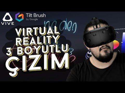 Google Tilt Brush // Gökleri Boyadım TWITCH ile! - Virtual Reality Keşifleri