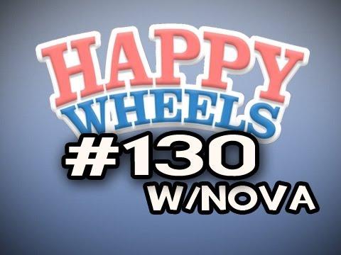 Happy Wheels w/Nova Ep.130 - Old Man Why Do You HAUNT ME!