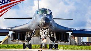 【準備完了】グアムから朝鮮半島へ飛び立つ米空軍のB-1B爆撃機