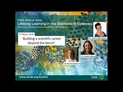 Building a scientific career beyond the bench