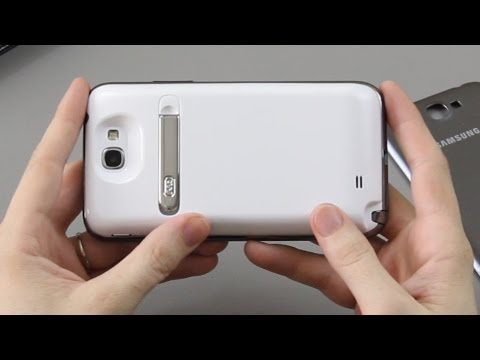 Mugen 6,400 mAh Extended Battery for the Samsung Galaxy Note 2 / II (Unboxing and First Look)