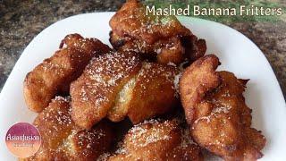 Mashed Banana Fritters