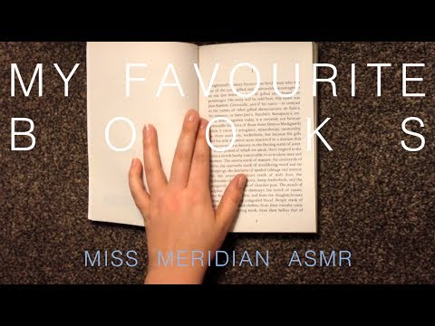 REQUEST | My favourite books, tapping, scratching, whisper video. ASMR.