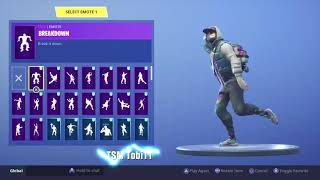 Skin Abstrakto Dancing all the Fortnite dances Which one suits you best? -Fortnite Shop