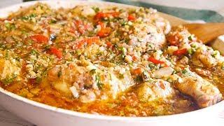Чахохбили из Курицы с Орехами - Самый Вкусный Рецепт! Проверенный Рецепт!  Грузинская Кухня.
