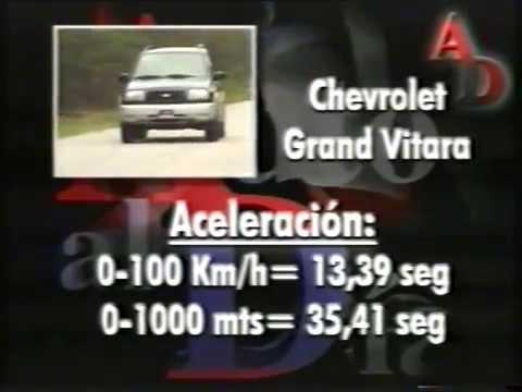 TEST CHEVROLET GRAND VITARA 2 0 AT, AUTO AL DÍA N°65