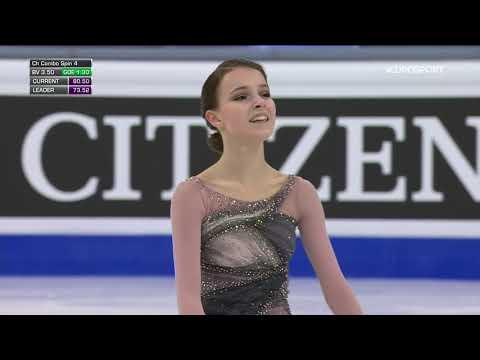 Анна Щербакова, победная