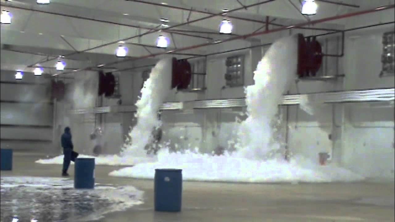 Foam Fire Suppression System Design