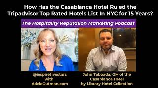 John Taboada GM of the Casablanca Hotel by Library Hotel Collection