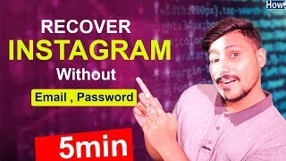 Recover Hacked instagram Account Without Email And Password Hindi Urdu 2019