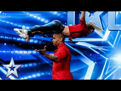 Will Annette & Yannick be skating on thin ice? | Auditions Week 6 | Britain's Got Talent 2017