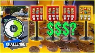Bulk Vending Machine Challenge & Collection