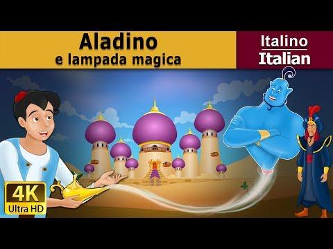 Aladino e a Lampada Magica | Storie Per Bambini | Favole Per Bambini | Fiabe Italiane