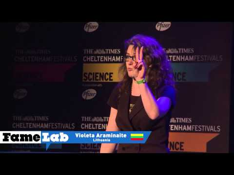 Violeta Araminaite FameLab 2013 Intl Final Travel Video
