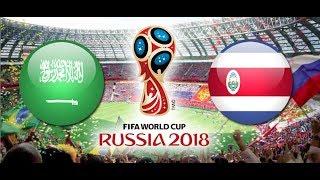 PÓŁFINAŁ TURNIEJ PANINI FIFA WORLD CUP RUSSIA 2018 ARABIA SAUDYJSKA - KOSTARYKA