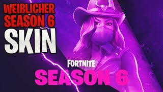 *NEW* Fortnite: FEMALE Season 6 Skin! 😱 Teaser/Trailer | Fortnite Battle Royale (English) | Detu