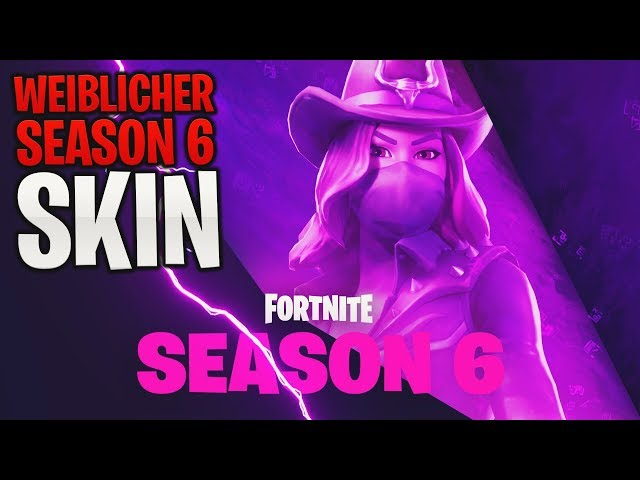*NEU* Fortnite: WEIBLICHER Season 6 Skin! ???? Teaser/Trailer | Fortnite Battle Royale (Deutsch) | Detu