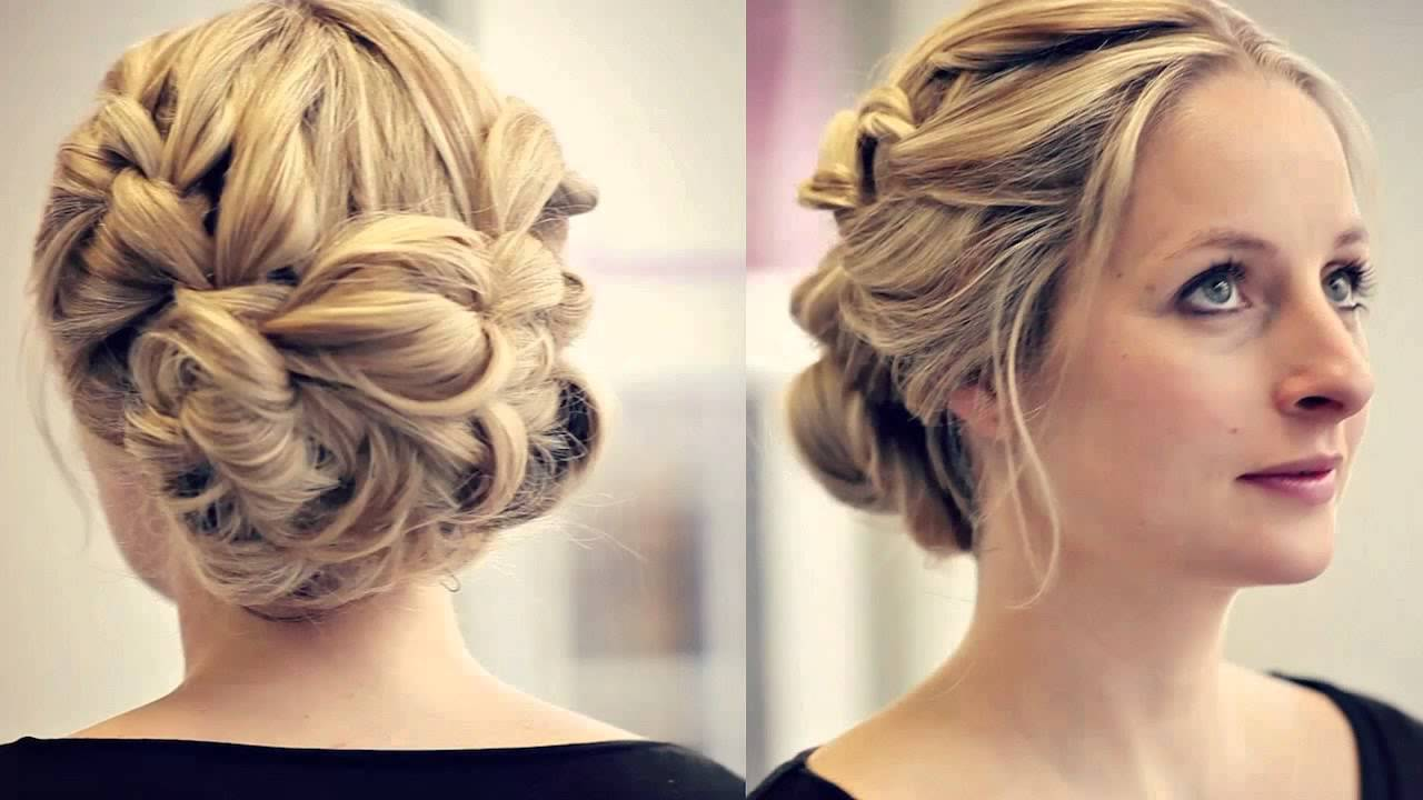 wedding guest hair half up half down with fringe hairdresser