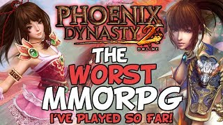The Worst MMORPG I've Ever Played