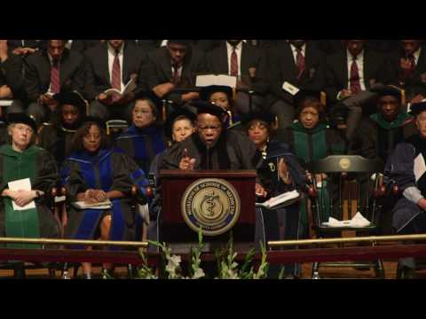 Rep. John Lewis at Morehouse School of Medicine Commencement 2017