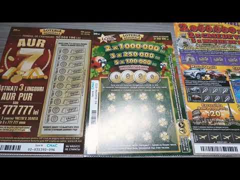 Национальная лотерея Молдовы.Есть выигрыш!!!