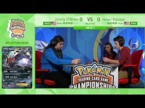TCG Jimmy O'Brien Vs Nolan Randal- Pokémon Regional Championships St  Louis