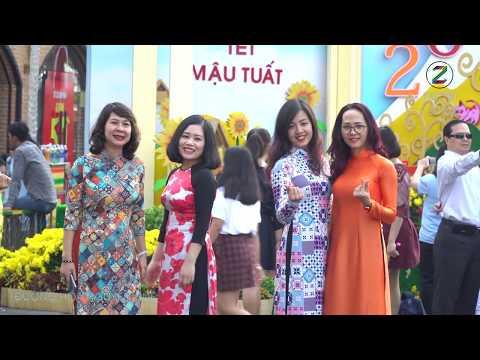 ĐƯỜNG HOA NGUYỄN HUỆ 2018 địa điểm du Xuân Sài Gòn đón tết Mậu Tuất | ZaiTri