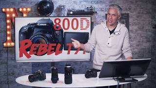 Canon T7i & 800D Training Tutorial