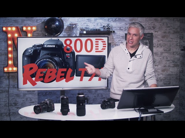 Canon Rebel T7i tutorial and user guide (video) – CanonWatch