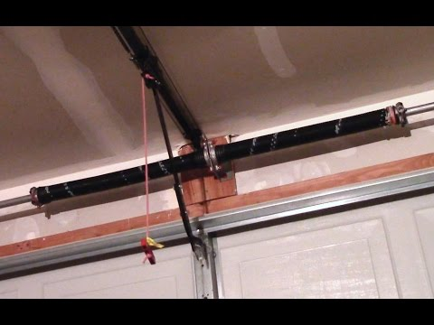 Garage Door Torsion Spring Replacement How To