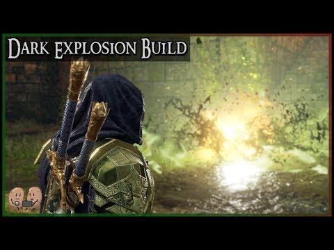 Dark Explosion Build - Poison, Balefire & Booms | Shadow of War